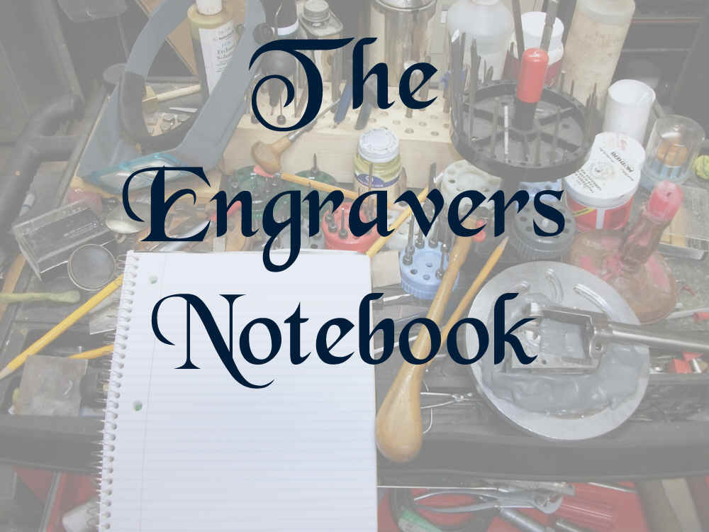 Engravers Notebook banner